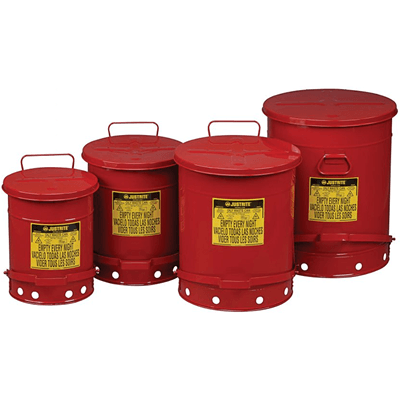 Oily Waste Cans (Wiper Cans)